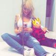 Emilie Nef Naf : Selfie avec son petit prince Menzo