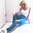 Emilie Nef Naf : Selfie sur Instagram