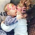 Emilie Nef Naf : ses amours Menzo et Maëlla, complices et câlins. Novembre 2015.