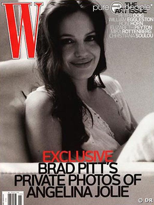 Angelina Jolie, par Brad Pitt
