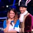 EnjoyPhoenix et Yann-Alrick Mortreuil dans la peau d'Alice au Pays des Merveilles et du lapin, dans  Danse avec les stars 6 , le samedi 28 novembre 2015 sur TF1.