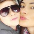 Ornella Verrechia et son fils Ilario