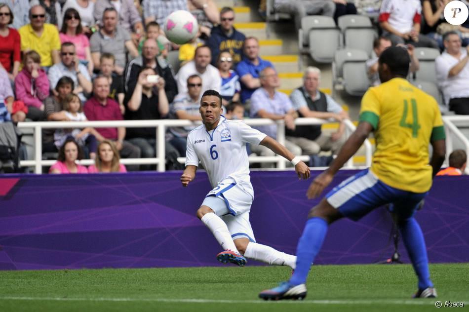 Arnold Peralta sous les couleurs du Honduras le 4 août 2012 durant les JO de Londres.