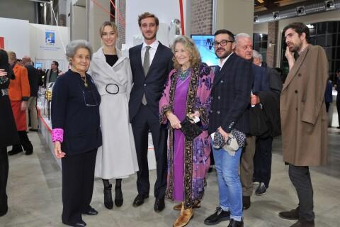 Beatrice Borromeo, superbe et investie, avec Pierre Casiraghi et les siens