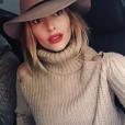 Caroline Receveur : selfie pour la blogueuse