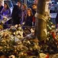 Hommage aux victimes des attentats de Paris une semaine après rue de Charonne - Paris le 20 Novembre 2015 - © Lionel Urman / Bestimage