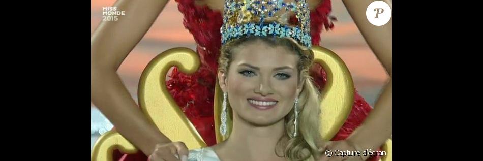 Miss Espagne, Mireia Lalaguna Royo, est élue Miss Monde 2015