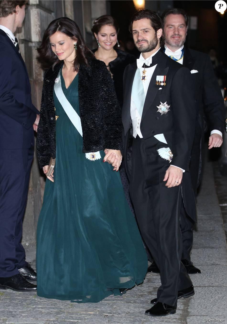 Le prince Carl Philip de Suède et la princesse Sofia ...