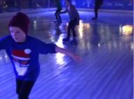 David Beckham : Romeo et Cruz, rois des patins glacés