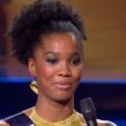 Les 5 finalistes s'expriment, lors de l'élection Miss France 2016 le samedi 19 décembre 2015 sur TF1