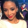 Flora Coquerel, Miss France 2014, aux Etats-Unis pour le concours Miss Univers 2016. Décembre 2015.