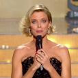 Sylvie Tellier, lors de l'élection Miss France 2016 le samedi 19 décembre 2015 sur TF1