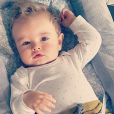 Stéphanie Clerbois immortalise la beauté de son fils Lyam. Novembre 2015.