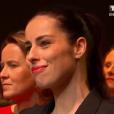 Ariane Quatrefages, lors de l'élection de Miss France 2016, le samedi 19 décembre 2015 sur TF1.