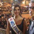 Iris Mittenaere (Miss France 2016), son papa est fier d'elle ! Décembre 2015.