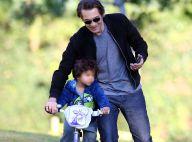 Olivier Martinez : Papa poule joueur pour son fils Maceo, adorable casse-cou