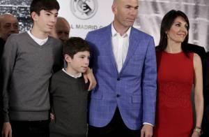 Zinédine Zidane, entraîneur du Real : Le sacre devant Véronique et leurs enfants