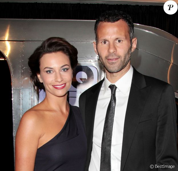 Ryan Giggs et son épouse Stacey lors des GQ Men of the Year Awards à la Royal Opera House de Londres, le 7 septembre 2010