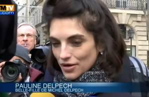 Michel Delpech : Pauline, bouleversée aux obsèques