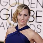Golden Globes 2016: Kate Winslet rayonne avec son prix et avec Leonardo DiCaprio