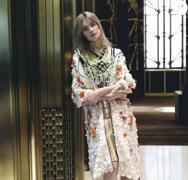 Natalia Vodianova pour la nouvelle campagne Prada