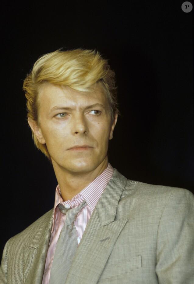 En France, à Cannes, David Bowie en mai 1983.