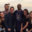 """Le rappeur Snoop Dogg dévoile la première photo des """"Anges 8"""". Los Angeles, janvier 2016."""