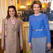 Rania de Jordanie et Mathilde de Belgique : Discussion de crise entre reines...