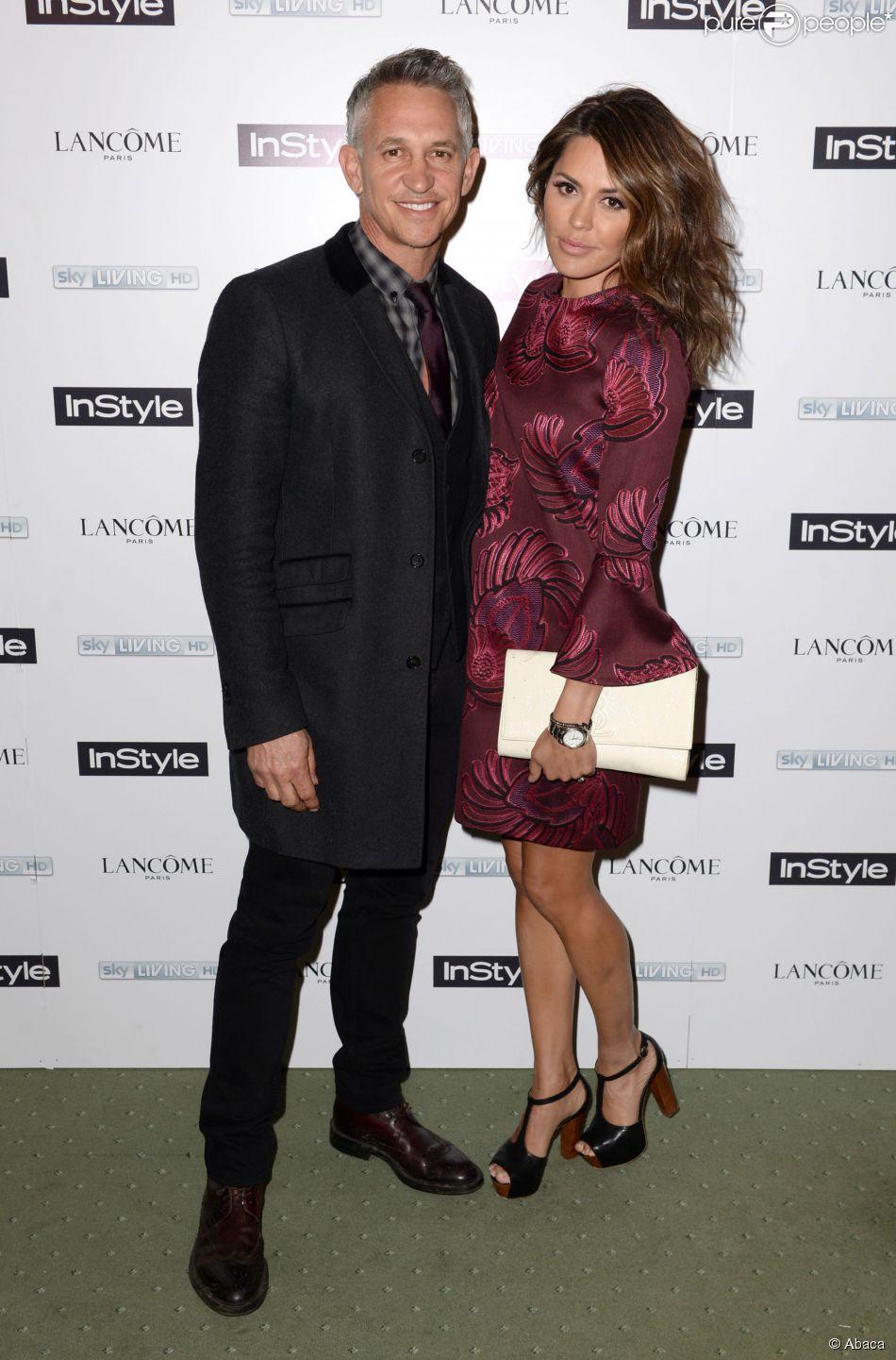 Gary et Danielle Lineker à Londres en février 2014.