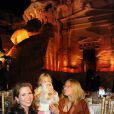 La princesse Haya Bint Al Hussein avec Nicoletta Montovani, veuve de Luciano Pavarotti, assiste avec leur fille Alice au concert hommage donné à sa mémoire