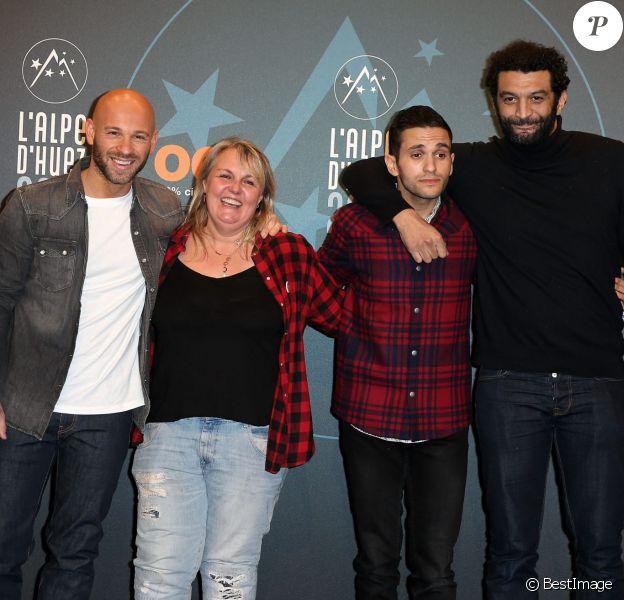 Franck Gastambide, Valérie Damidot, Malik Benthala, Ramzy Bedia - 19e Festival International du film de Comédie de l'Alpe d'Huez le 14 Janvier 2016.