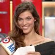 Iris Mittenaere, Miss France 2016, découvre que Sylvie Tellier n'avait pas misé sur elle pour l'élection. Le 4 janvier 2016.
