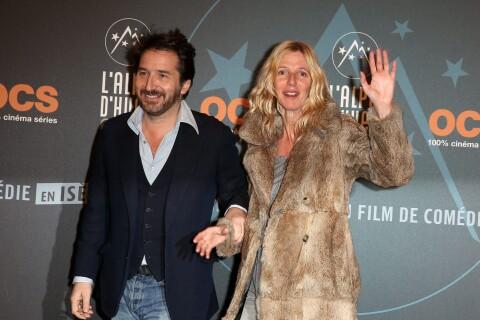 Edouard Baer et Sandrine Kiberlain tendrement complices face à Marilou Berry
