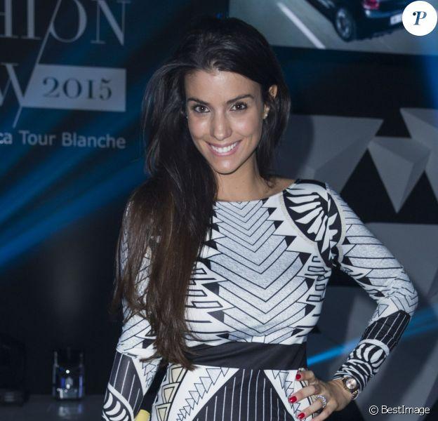 """Exclusif - Ludivine Sagna - People au """"Casa Fashion Show"""" au Sofitel Tour Blanche à Casablanca au Maroc le 28 mars 2015."""