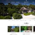 Capture d'écran du site du Soneva Fushi Resort, dans l'atoll de Baa aux Maldives, où la princesse Madeleine de Suède passe des vacances en janvier 2016.