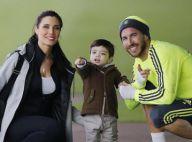 Sergio Ramos et Pilar Rubio : Complices avec leur fils pour son premier foot