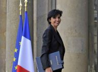 REPORTAGE PHOTOS : Rachida Dati en tailleur pantalon à l'Elysée... so chic !