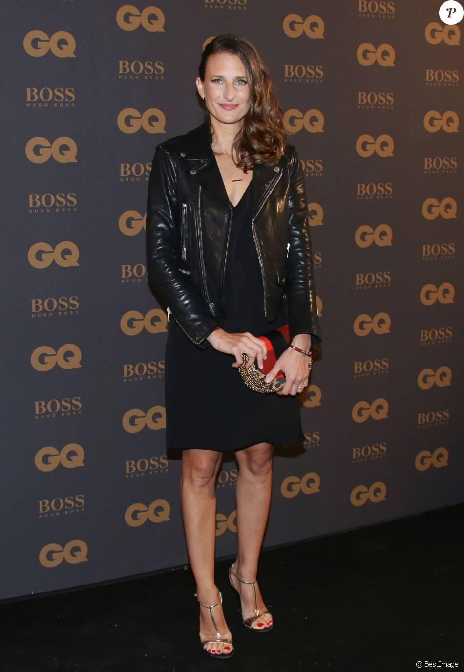 """Camille Cottin- Photocall de la cérémonie des """"GQ Awards 2015"""" au Shangri-La Hotel à Paris, le 25 janvier 2016. © Denis Guignebourg/Bestimage"""