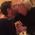 """""""Soirée des Grosses Tetes à Paris, le 25/01/16. Christophe Beaugrand et Jean-Jacques Peroni"""""""