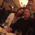 """""""Soirée des Grosses Tetes à Paris, le 25/01/16. Karine Le Marchand et Christophe Dechavanne"""""""