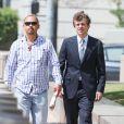 Exclusif - Conrad Hilton arrive au tribunal à Los Angeles, le 16 juin 2015. Conrad a été arrêté l'année dernière après avoir insulté des voyageurs sur un vol Londres/Los Angeles de la compagnie British Airways en juillet dernier.
