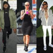 Kanye West attaque Wiz Khalifa... Leur ex Amber Rose met le doigt où ça fait mal