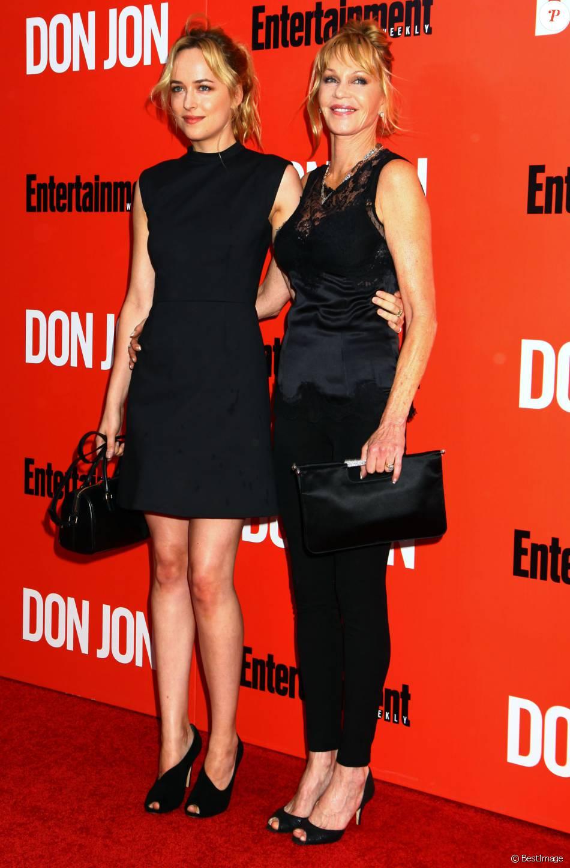 Dakota Jonson et sa mère