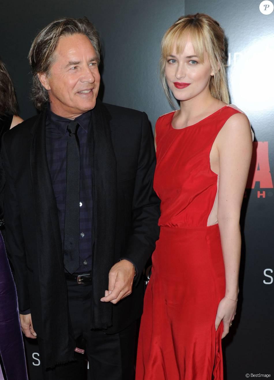 Dakota Jonson et son Père
