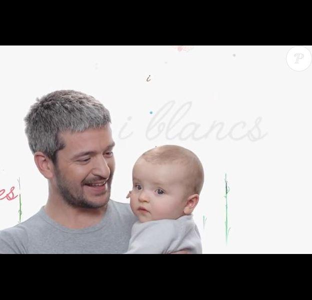 Le chanteur Grégoire et sa fille Léopoldine dans le clip de son nouveau single Les point sur les i