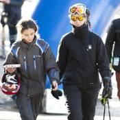 Elena d'Espagne et sa fille Victoria, skieuses fidèles au rendez-vous