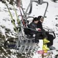 L'infante Elena d'Espagne et sa fille Victoria de Marichalar profitaient des joies des sports d'hiver à Baqueira Beret le 25 janvier 2016.