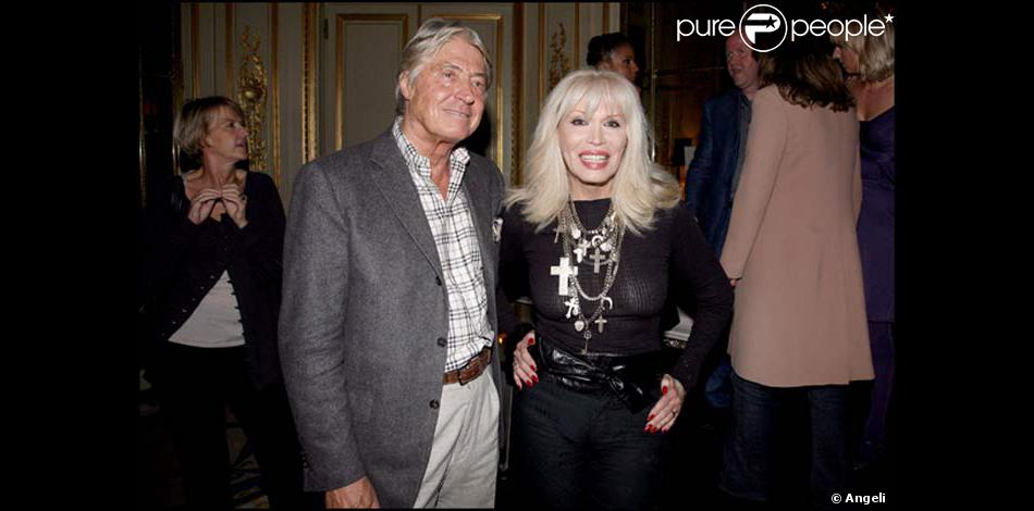 amanda lear et pierre cornette de saint cyr purepeople. Black Bedroom Furniture Sets. Home Design Ideas