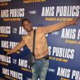 """Black M (Black Mesrimes) - Avant-première du film """"Amis Publics"""" au cinéma UGC Normandie à Paris, le 1er février 2016. © Veeren/Bestimage"""