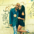 Zoë Kravitz a publié une photo avec son chéri Twin Shadow sur sa page Instagram, au mois de janvier 2016.